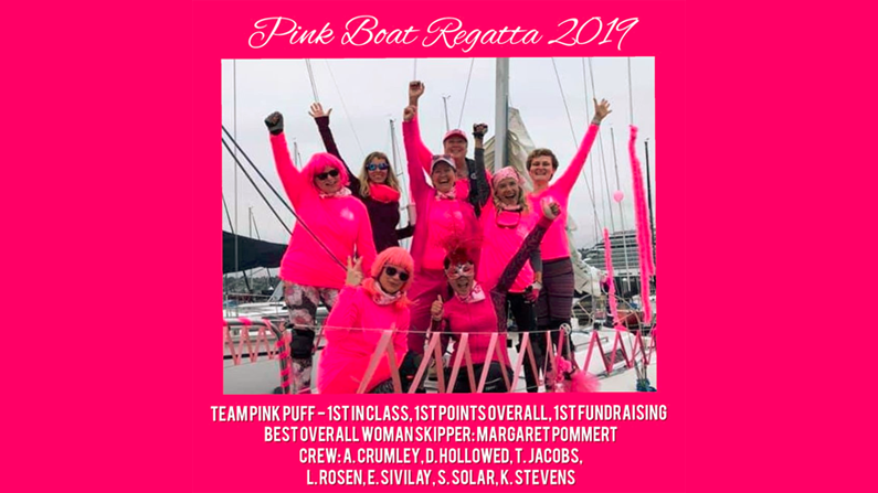 A special congratulations to Team Pink Puff