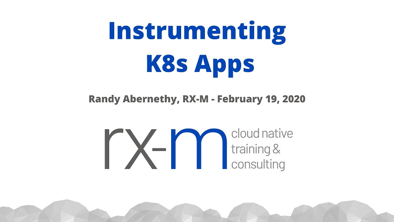 Instrumenting Microservices for K8s - How to Make Your Apps Optimally Operational